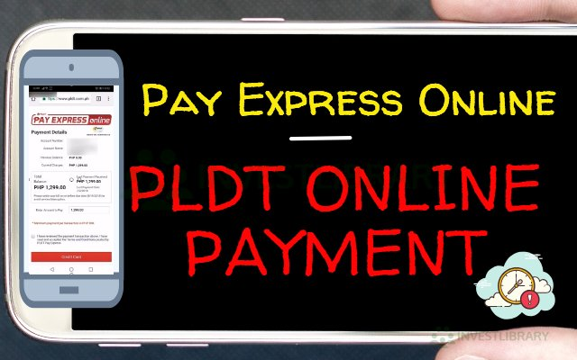 PLDT Online Payment Using Pay Express Online