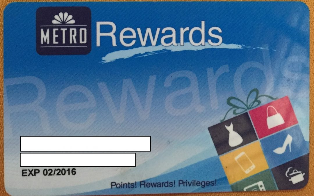 Metro Rewards Card Points: How to Earn and Redeem