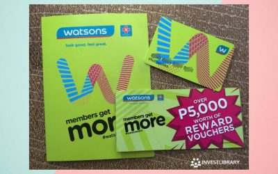 Watsons Philippines Membership Card: How to Avail and the Benefits