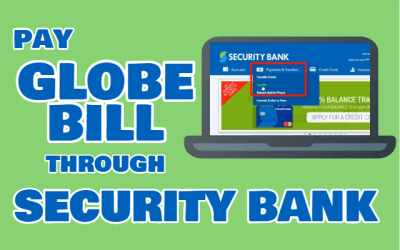 How to Pay Globe Bill through Security Bank Online