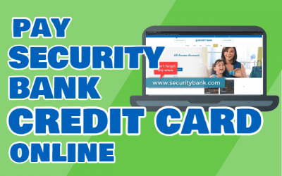 How to Pay Security Bank Credit Card Online