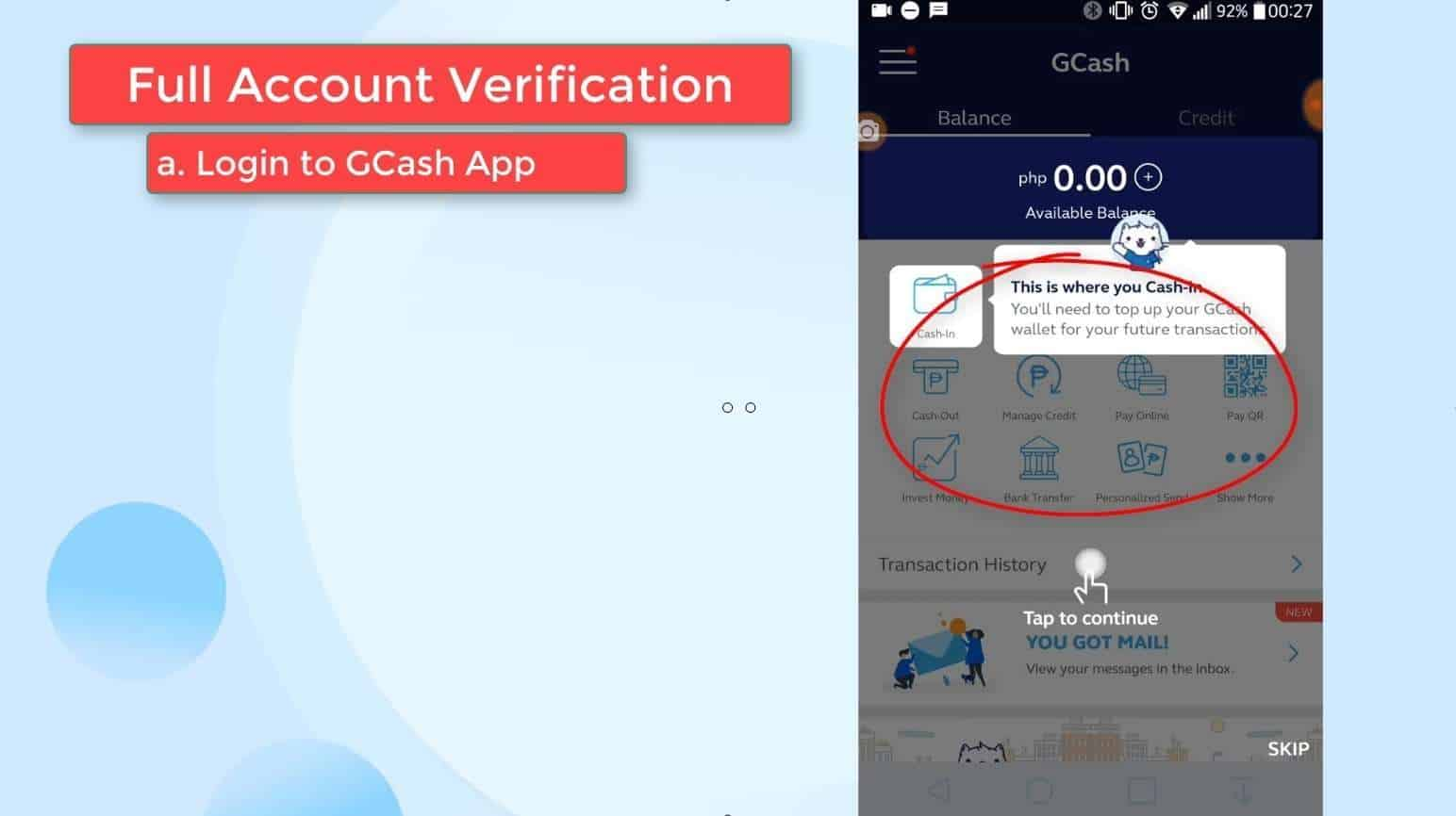 GCash Verify 15