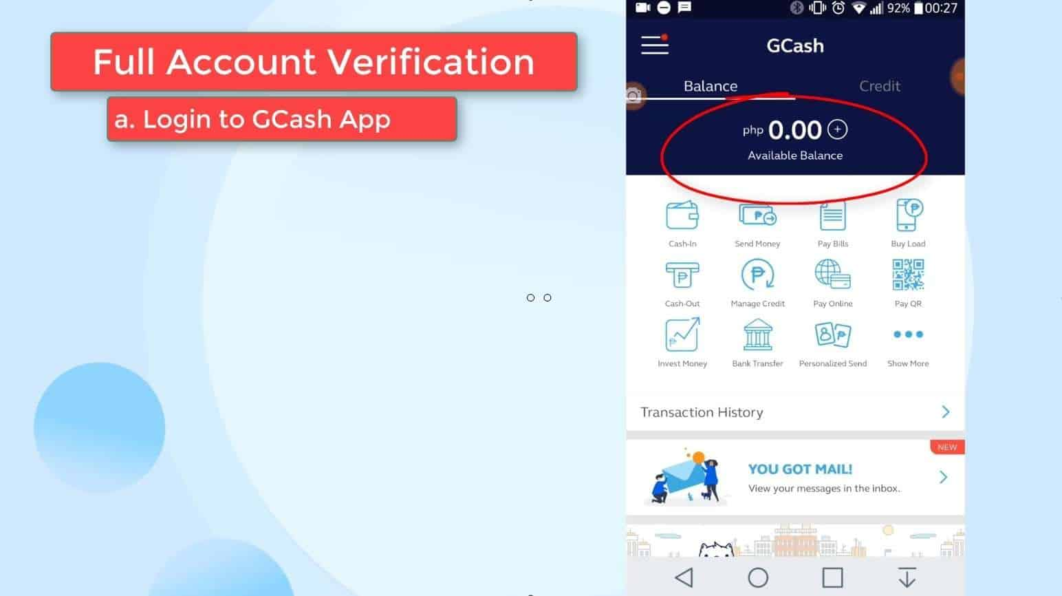 GCash Verify 16