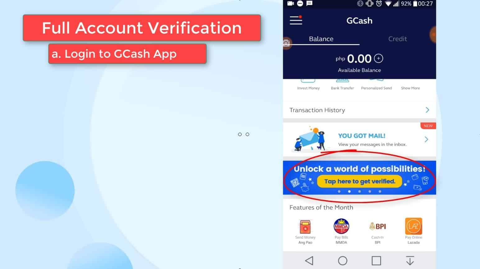 GCash Verify 17