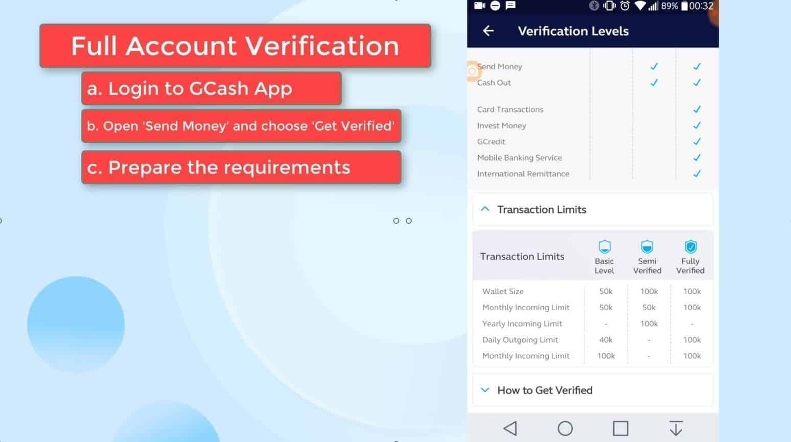 GCash Verify 22