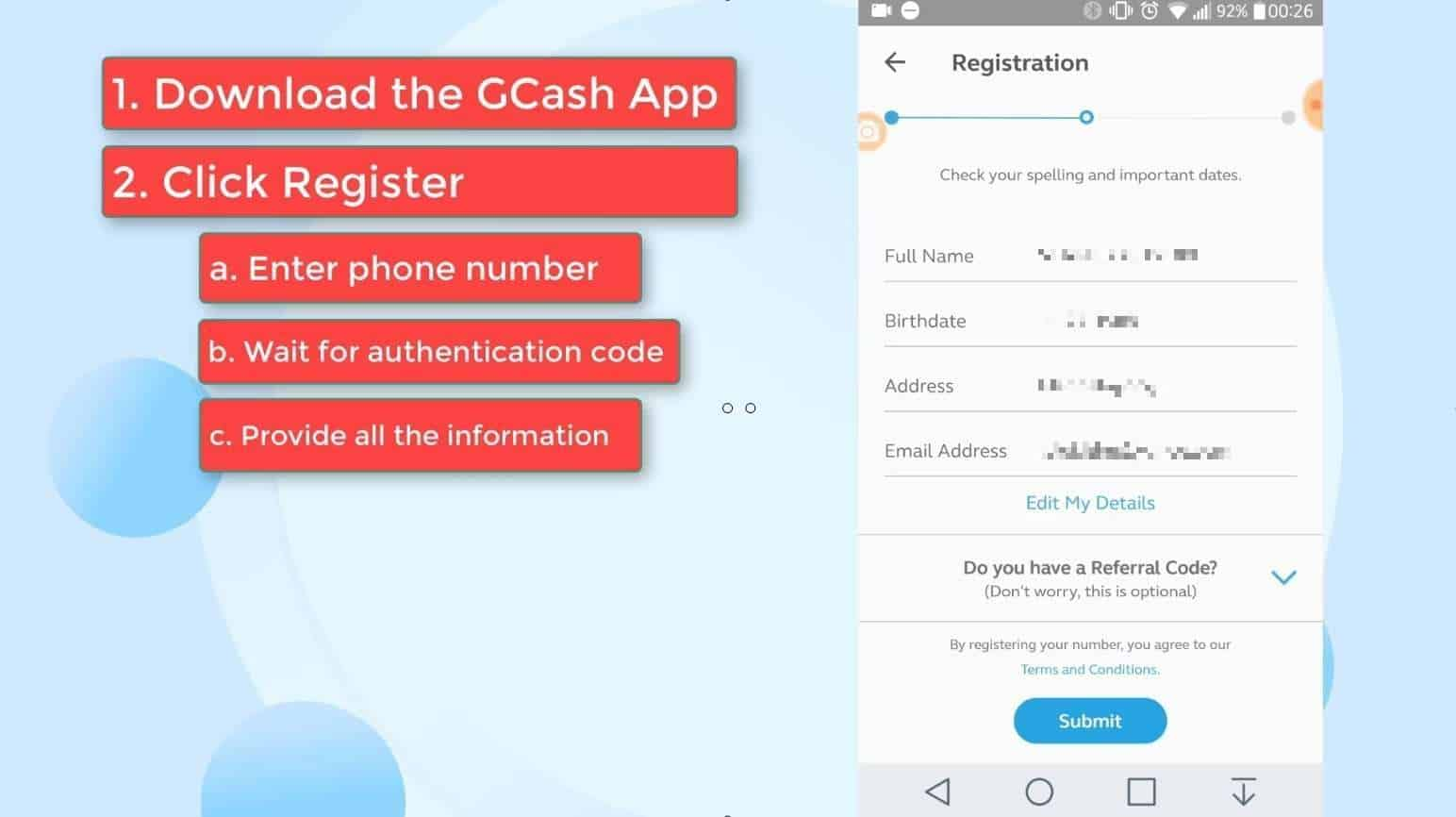 GCash Verify 9