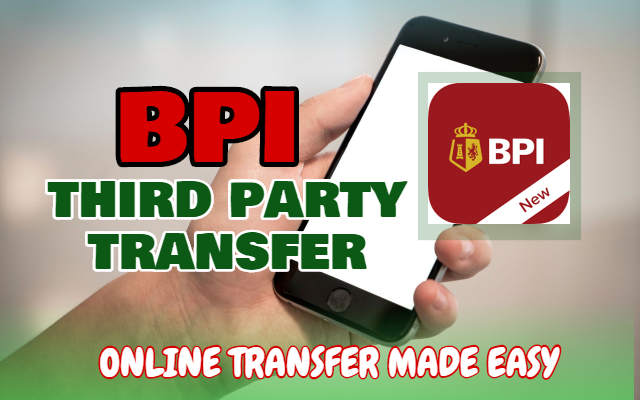 BPI Transfer to 3rd Party using QR Code for FREE (2019)