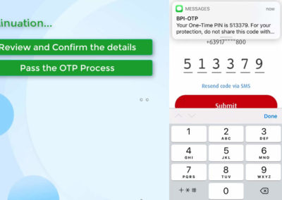 BPI Transfer to 3rd Party using QR Code 17
