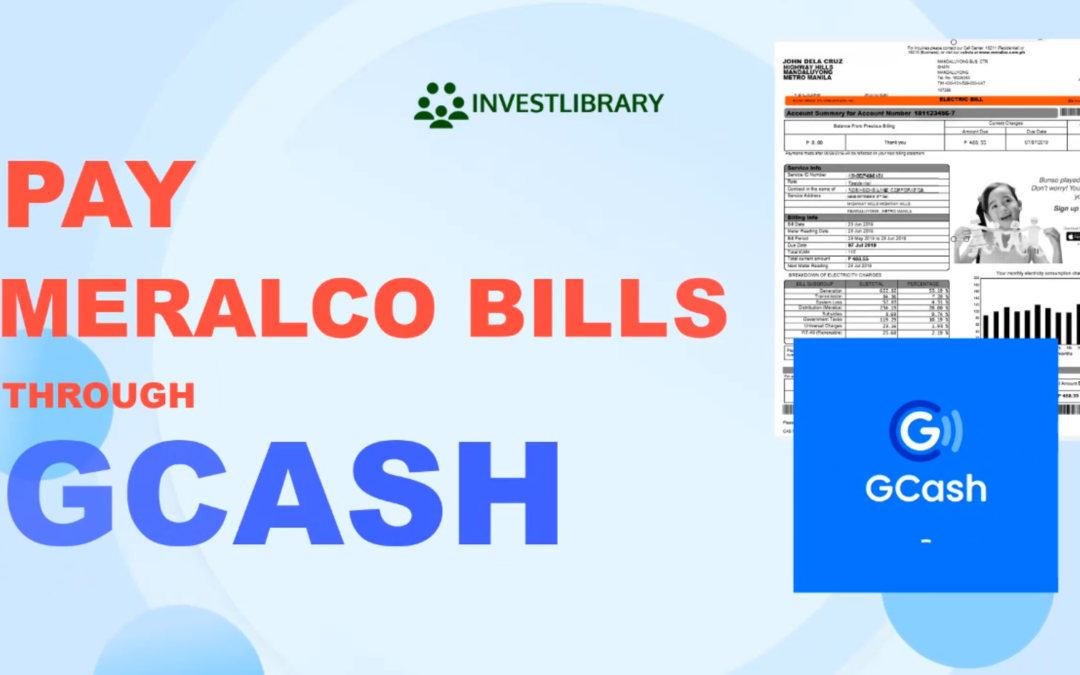 How to Pay Meralco Bill using GCash Bills Payment