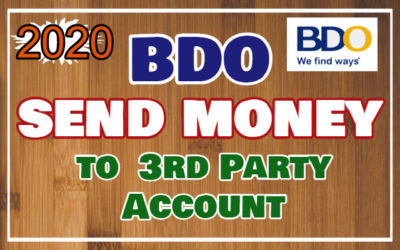How to Enroll and Send Money to Any BDO Account Online via Mobile App